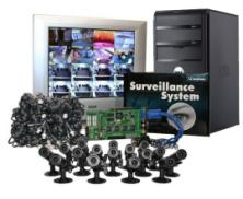 16 security camera geovision surveillance system
