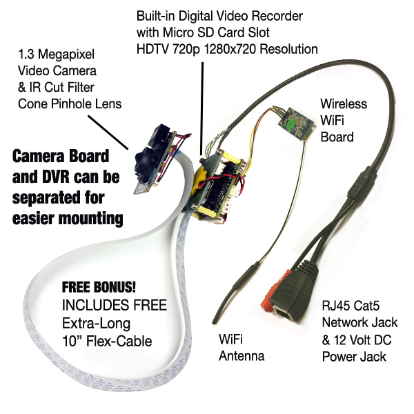 wifi series hide it yourself hidden spy camera bigsecurity hdtv pinhole lens video camera