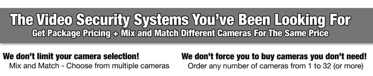 Home and Business Video Security Camera System
