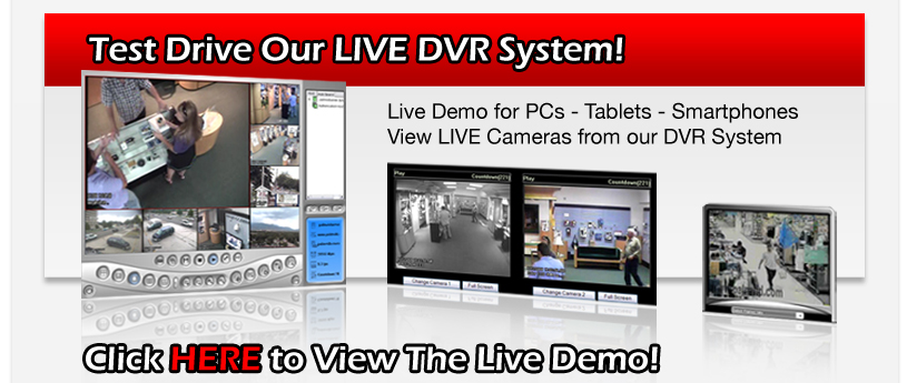 Click Here to View DVR Live Demo