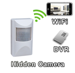WiFi Motion Detector PIR Sensor Hidden Camera Spy Camera Nanny Cam