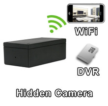 PROJECT-WIFI  Black Box WiFi Hide it Yourself Hidden Spy Camera