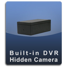 Hide-It-Yourself Square Pinhole Lens DVR Nanny Camera