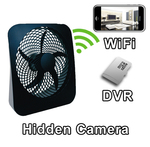 WiFi Fan Hidden Camera Spy Camera Nanny Cam